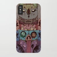 totem iPhone & iPod Cases featuring Totem by kitsunebis