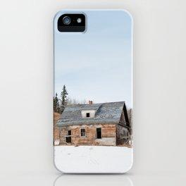Usona Farm-house 3 iPhone Case