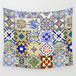 Azulejo — Portuguese ceramic #15 Wall Tapestry
