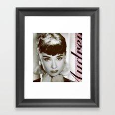 Presenting Miss Hepburn Framed Art Print