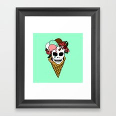 Hella Mint Framed Art Print