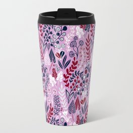 Floral meadow Travel Mug