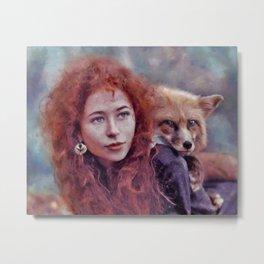 Foxy soul Metal Print