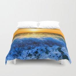 World wide Sea Duvet Cover