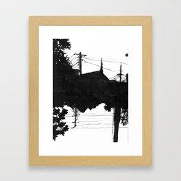 Railway V Framed Art Print