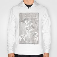 freddy krueger Hoodies featuring Freddy Krueger by Aaron Bir by Aaron Bir