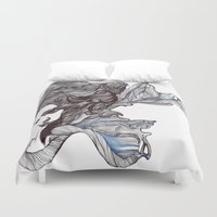 wings Duvet Covers featuring Wings by Ilariabp.art