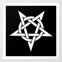 Pentagram Art Print