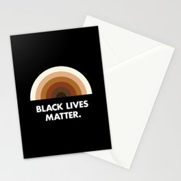 Black Lives Matter Rainbow Stationery Cards