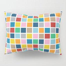 Colour Block Outline Pillow Sham