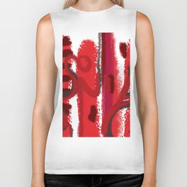 Red Session 1 Biker Tank