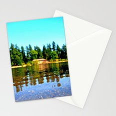 Lakeside summer Stationery Cards
