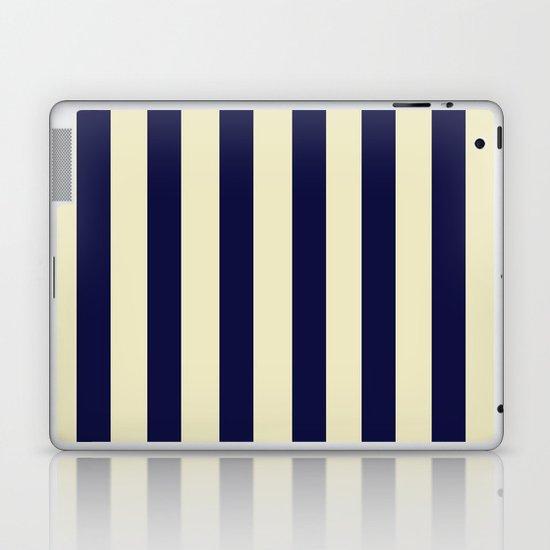 Navy Stripes Laptop & iPad Skin