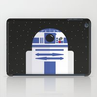 r2d2 iPad Cases featuring R2D2 by FioMedina