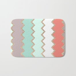 AVALON CORAL MINT Bath Mat