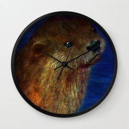 Otto the Otter Wall Clock