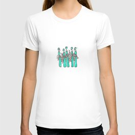 Teal People T-shirt