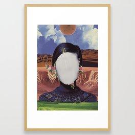 COSMIC PORTRAITS//01 Framed Art Print