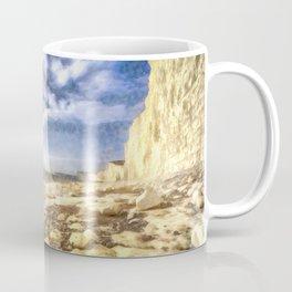 Birling Gap And Seven Sisters Art Coffee Mug