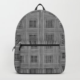 Ambient 10 in black and white Backpack