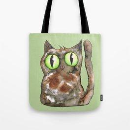 Tortoiseshell cat Tote Bag