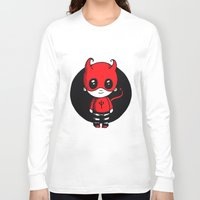 devil Long Sleeve T-shirts featuring Devil by Chrystal Elizabeth