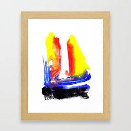Good Morning Colours! Framed Art Print