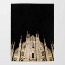 Duomo in the Dark Poster