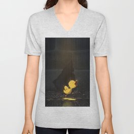 Duckling Feels Freedom Unisex V-Neck