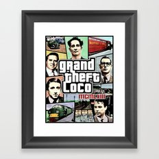 The Great Train Robbery 1963 Framed Art Print