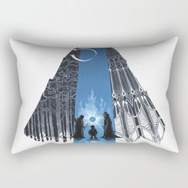 Fantastic mysteries in the woods Rectangular Pillow