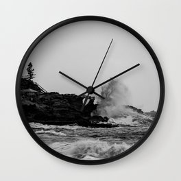 POWERFUL NATURE Wall Clock