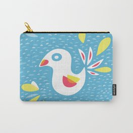 Abstract Bird In Spring Carry-All Pouch