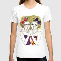 gemini T-shirts featuring Gemini by D.U.R.A