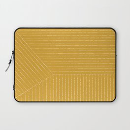 Lines (Mustard Yellow) Laptop Sleeve