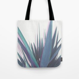 Holographic Leaves Tote Bag