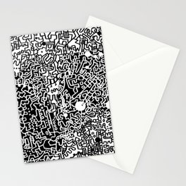 Cell Pattern Stationery Cards