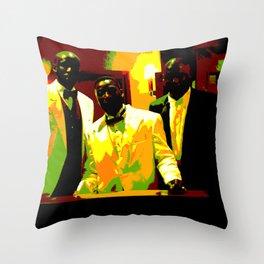Cotton Club Legends Throw Pillow