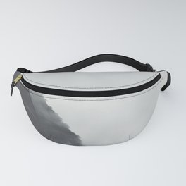 Landscape Photography Misty Grey Sea Cliffs Fanny Pack