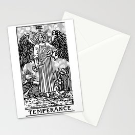 Temperance - A Floral Print Stationery Cards