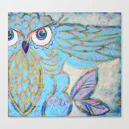 Owl - Colour Me Happy Canvas Print
