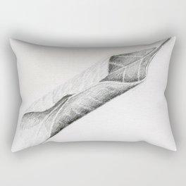 Leaf Sketch Rectangular Pillow