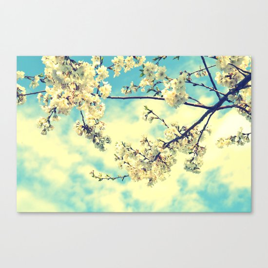 """Sweet Blossoms"" Flower Photography Canvas Print"