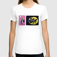 dana scully T-shirts featuring Aliens, Scully! by Anna Valle