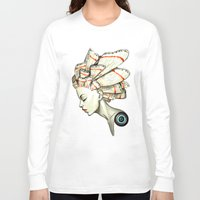 moth Long Sleeve T-shirts featuring Moth 2 by Freeminds