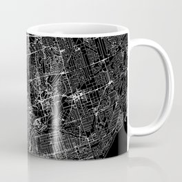 Toronto Black Map Coffee Mug