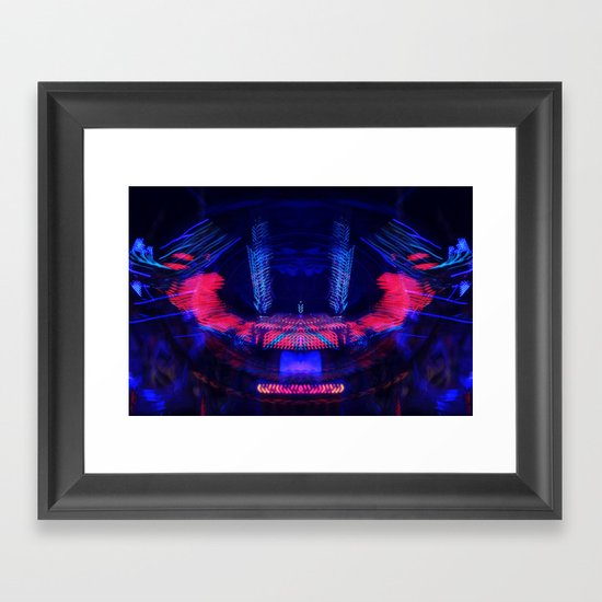 At the Show - Abstract Framed Art Print