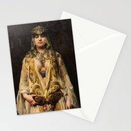 In the Presence of the Lord - Francesc Masriera Stationery Cards