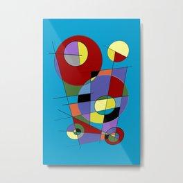 Abstract #40 Metal Print