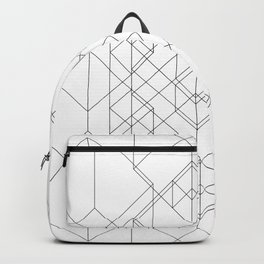 Transparent Cube Backpack
